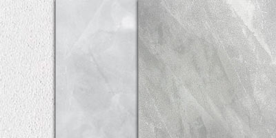 metallic stucco full effect - silver