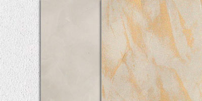 metallic stucco veiled effect - brass