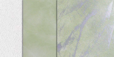 metallic stucco veiled effect - silver