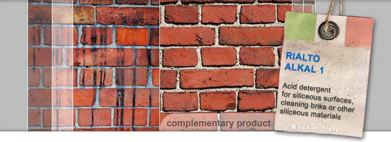 bricks and wall acid cleaner